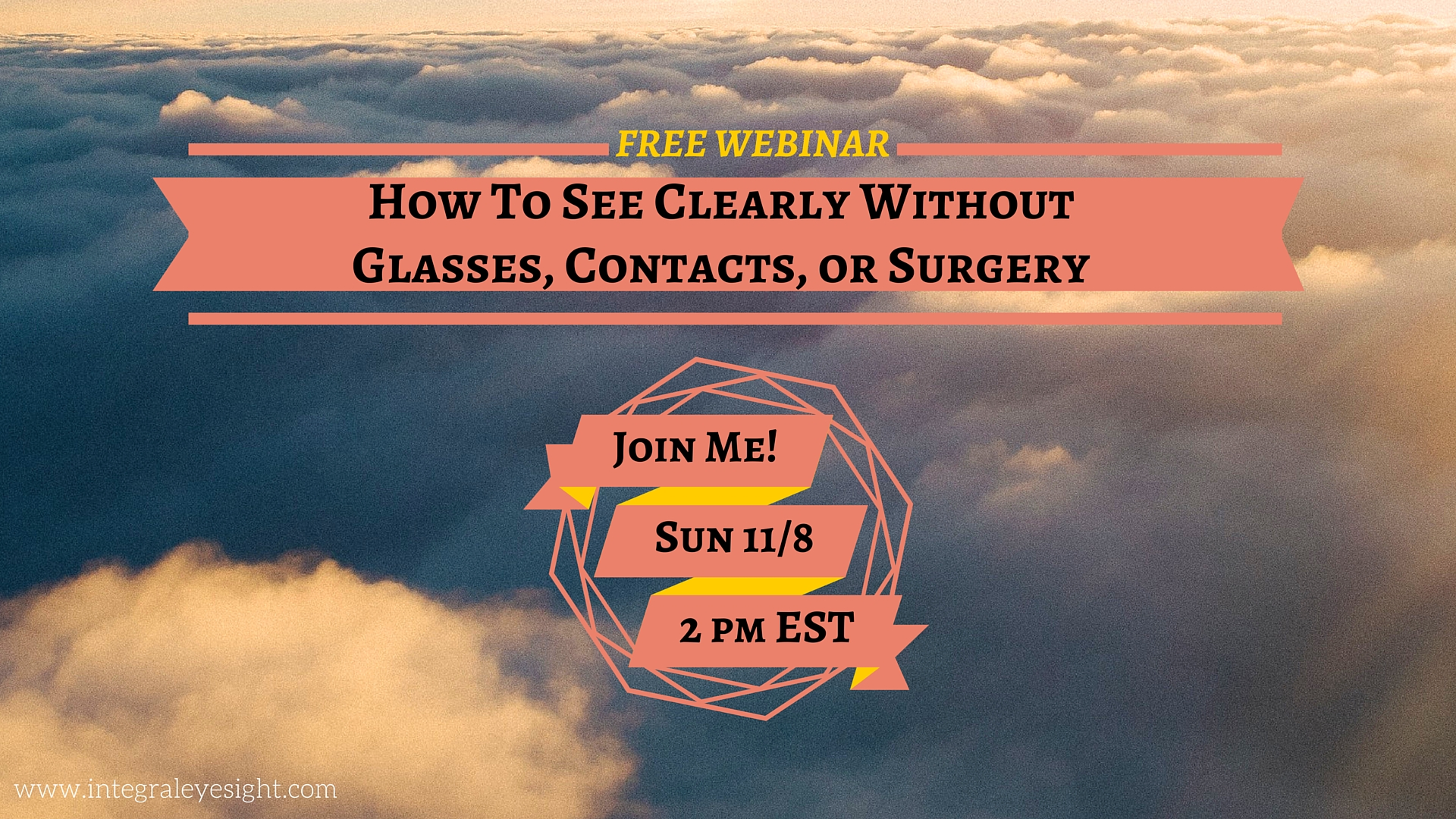 How To See Clearly Without Glasses Contacts Surgery Bates Method Yoga Meditation Asheville AVL Eyesight Eyecare Holistic